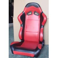 Quality Red Black Sport Racing Seats With Single Or Double Slider Simple Installation wholesale