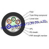 Quality GYFTA Optical Fiber Cable With Non metal Central Strength Member and Aluminium Tape wholesale