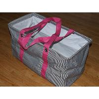 China Thirty One Large 21 x 12 x 10 Utility Tote Shopping Laundry Storage Bag PINK for sale