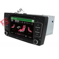 Quality SKODA Octavia VW Car DVD Player 7 Inch 2 Din Gps Bluetooth Car Stereo With Hand Brake Control wholesale