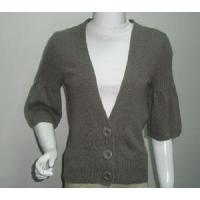 Quality Ladies Knitted Cardigan, 3/4sleeve Sweater (SFY-A056) wholesale