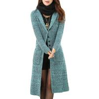 Quality Melange Cable Knit Womens Long Cardigans Women'S Button Front Cardigan Sweaters wholesale