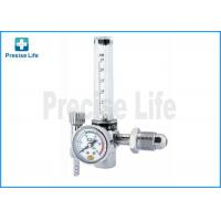 China Zinc Alloy G5/8 male CO2 / Argon pressure regulator with Gas Flowmeter on sale