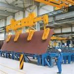 Quality cabin control 16 - 22 m  200 / 80T Magnetic Scrap Steel Casting Plant Lifting crane wholesale
