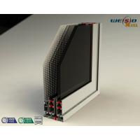 Quality Color Coated Aluminum Extrusion Profiles , Customized Door Frame Profiles wholesale