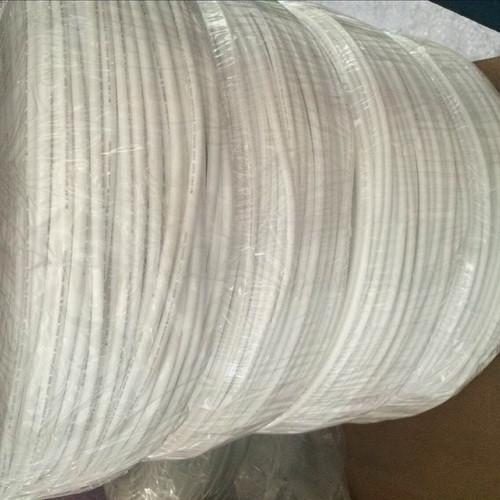 Cheap White Flexble PVC  Tubing NON Heat Shrinkable 300V / 600V Voltage Rating for sale