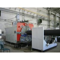 Quality PLC Control Plastic Production Line , HDPE Pipe Extruding Machine wholesale