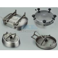 Quality Stainless Steel Tank Manhole Cover With Sight Glass Stainless Steel Pressure Manway wholesale