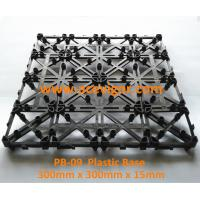 Quality PB-09 Interlocking Plastic mat for decking tiles wholesale