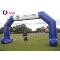 Quality Car Race 8M Wide Inflatable Arch Rental Durable Inflatable Start Finish Arch wholesale