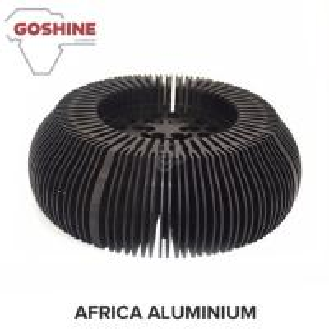 China unique design anodized heat sink aluminum extrusion profile/Aluminum Color Card on sale