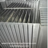 Buy cheap corrugated fins cooler wall for Oil filled Transformer Tank from wholesalers