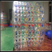 Quality Best Selling 2.2M Inflatable Water Roller summer hot inflatable water roller zorb ball with custom color wholesale