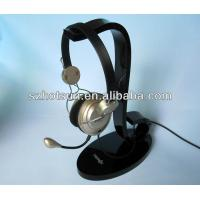 Quality Display rack for the earphone, acrylic earphone holder, bluetooth earphone display rack wholesale