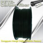 Quality High Strength Filament 3D Printer Filament 1.75mm PETG - Carbon Fiber Black Filament wholesale