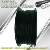 Quality High Strength Filament 3D Printer Filament 1.75mm PETG - Carbon Fiber Black Filament wholesale