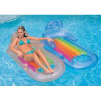 Quality inflatable floating sofa chair, inflatable water bed sofa wholesale