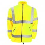 Quality Hi Vis Fleece Reflective Safety Workwear Jacket wholesale