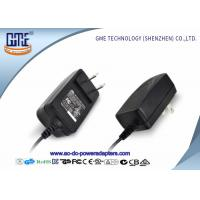 Quality CEC Level VI US Plug 12V 1A Switching Power Adapter with UL Certificate wholesale