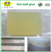 Quality Polyester Non - Toxic Hot Melt Adhesive Glue For Removable Plastic Point / No Drawing wholesale