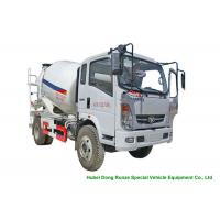 Quality HOMAN 4x2 Mobile Concrete Mixer Truck For Transport With 4m3 Load Capacity wholesale