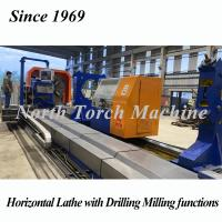 China Heavy Duty Horizontal Cnc Lathe Machine With Drilling Milling Function on sale