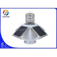 Quality AH-LS/C-4S GPS solar powered LED flashing tower warning light wholesale