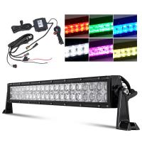 Quality 7D Reflector RGB Led Light Bar 12 / 22 Inch Over 50000 Hours Working Life wholesale