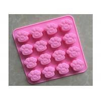 Quality Bear Paw Shape Silicone Baking Molds With Good Non - Skid Property wholesale