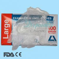 Quality Disposable vinyl gloves in health&medical manufacture wholesale