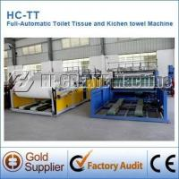 Quality Automatic Toilet Tissue Paper Making Machine wholesale