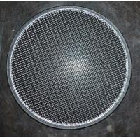 Quality 304 Round Stainless Steel Filter Screen , Filter Discs , Edge Treated wholesale