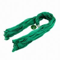 Quality 2013 Scarf Jewelry with Agate Pendant, Absolutely New Style, Available in 5 Colors wholesale