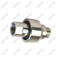 Quality Stainless steel high pressure swivel joint for hydraulic oil and water BSP threaded connection wholesale