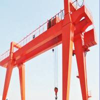 China Box Type Girder Gantry Crane , Ship Container Crane To Lift Material / Cargo on sale
