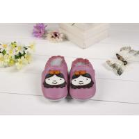 China cartoon leather soft sole shoes Toddler slipper,baby shoes-2 on sale