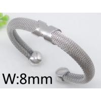 Quality OEM / ODM Stainless Steel Chain Bangle / Bracelets For Women Chic Jewelry 2720057 wholesale