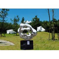 Quality Outdoor Abstract Stainless Steel Sculpture And Statues Garden Ornaments wholesale