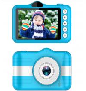 China 3.5 Inch Screen 1080P Kids Digital Camera Lithium Battery 600mAh Dual Lens CMOS Sensor on sale