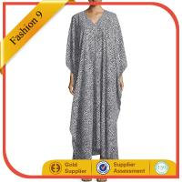 Quality Animal-Print Chiffon Caftan wholesale