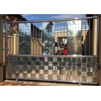 Quality High Strength Stainless Steel Front Door , Stainless Steel Entry Door Customized Colors wholesale