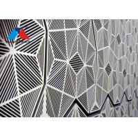 China 2-10mm Thickness Recyclable Aluminium Wall Panel For Curtain Wall Construction on sale