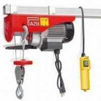 China 110V Electric Hoist with 560W Input Power and 550lbs Maximum Capacity on sale