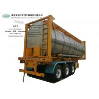 Quality Heating Insulated 30FT Tank Container Stanless Steel For Liquid Phosphoric Acid WhatsApp+8615271357675 wholesale