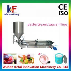 China Pneumatic Piston Cream/Paste Filling Machine,automatic hot sauce filling machine on sale