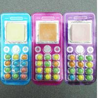Cheap Mobilephone Candy  Fashionable and Funny Shape Colorful Outlook Promotional Sanck for sale