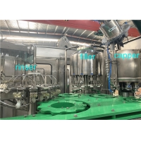 China SGS 4000BPH 4.23kw Juice Bottle Filling Machine Integrated Washing Capping on sale