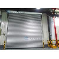 Quality Roll Up Absolutely Encoder Workshop Security Doors Wind Load Max 30m / s wholesale