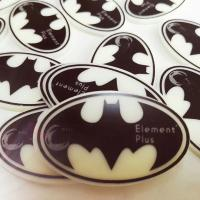 Quality Personalized Edible Printing On Chocolate Transfer Sheets Round Shape wholesale