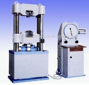 Quality Analog Display Hydraulic Universal Testing Machine price WE-300C wholesale